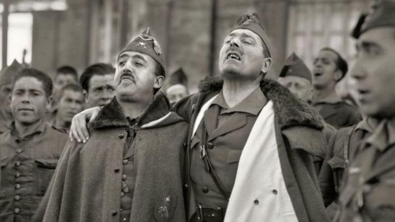 Franco i Millán Astray el 1926.