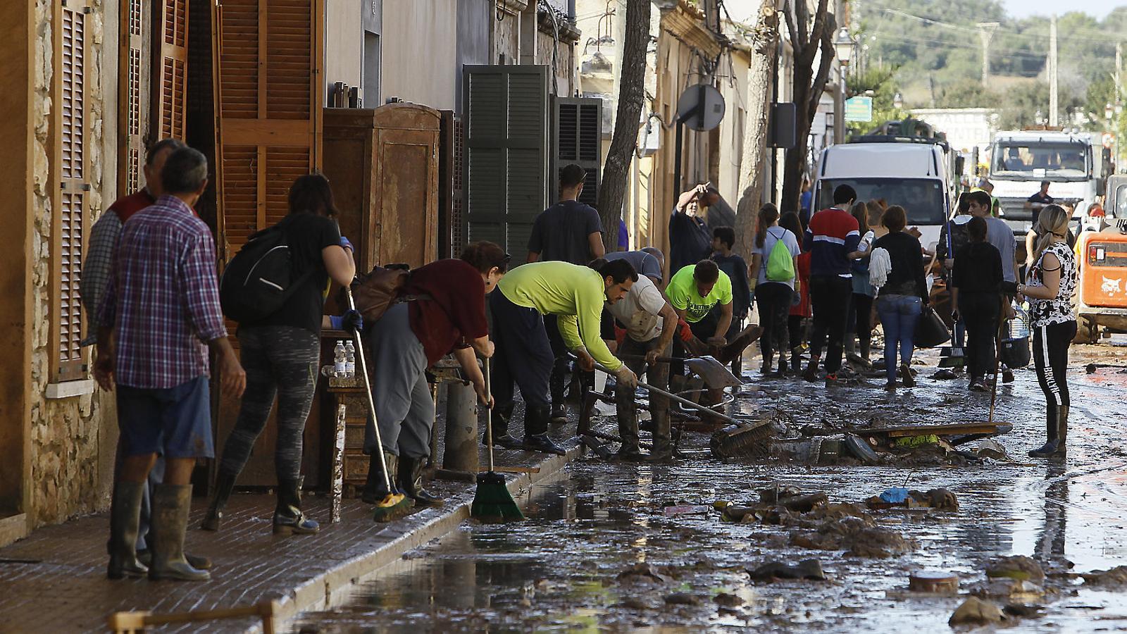 Sant Llorenç rep una onada de solidaritat