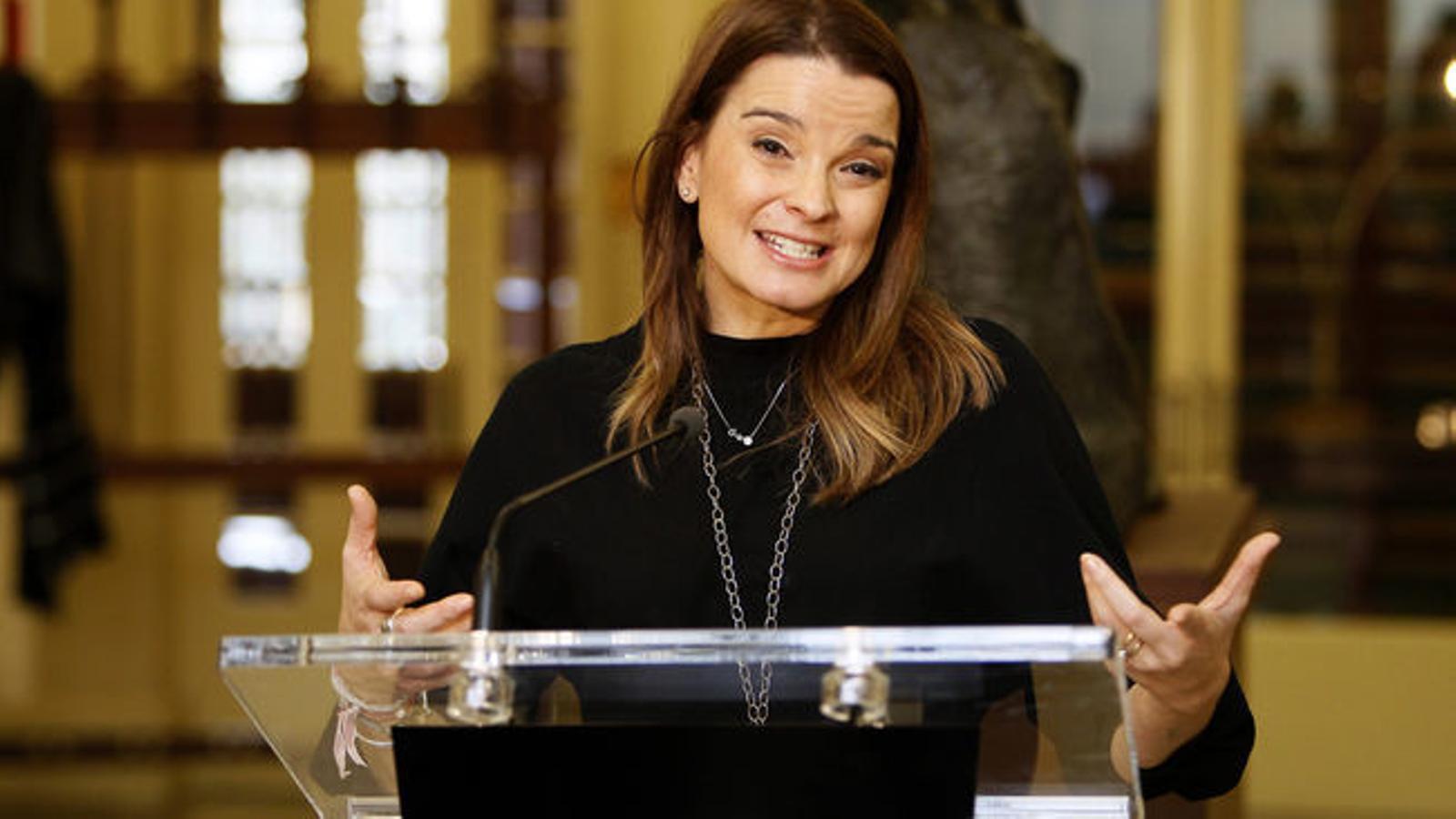 La portaveu adjunta del Partit Popular, Margalida Prohens.