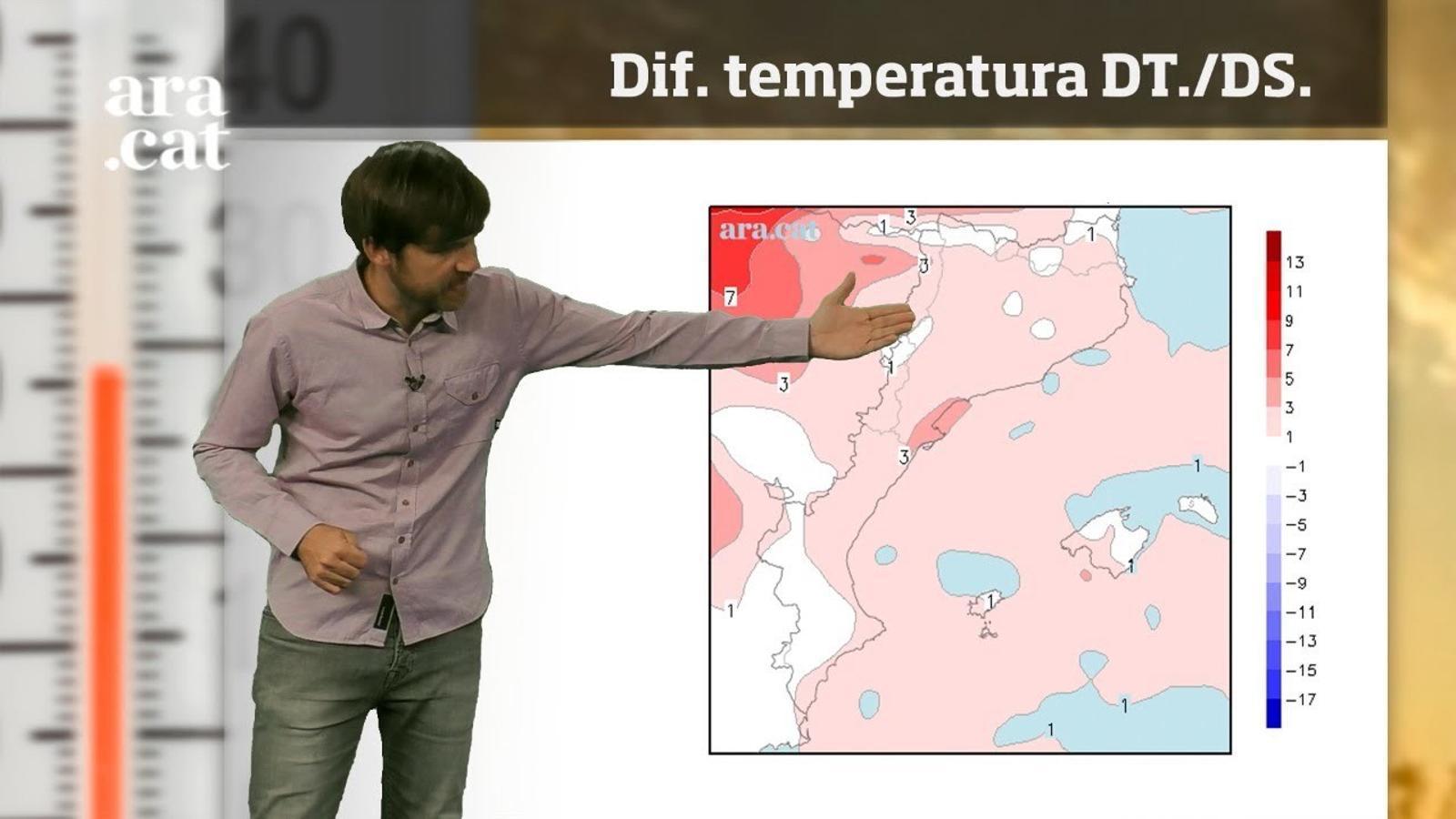 La méteo en 1 minut: set dies de calor intensa per davant