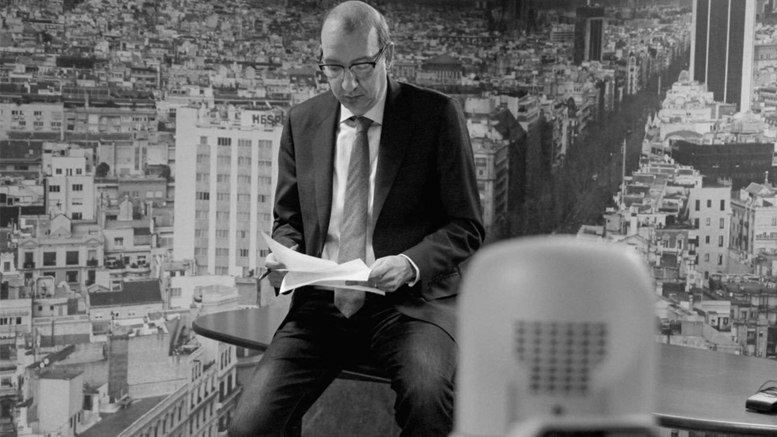 L'Editorial d'Antoni Bassas: 'Credibilitat per a la direcció política del procés' (18/02/15)