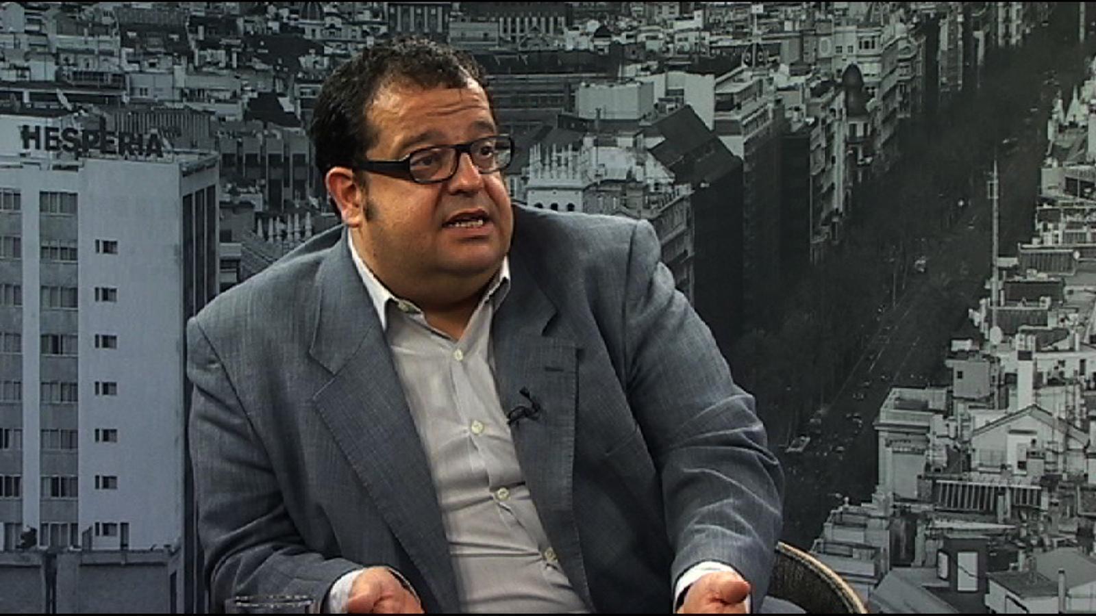 Joan Ignasi Elena: Hi hauria d'haver una candidatura d'esquerres que transcendís les fronteres dels partits