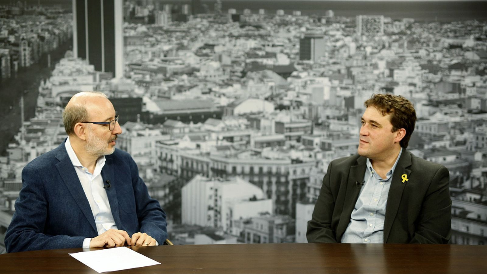 Entrevista d'Antoni Bassas a David Bonvehí