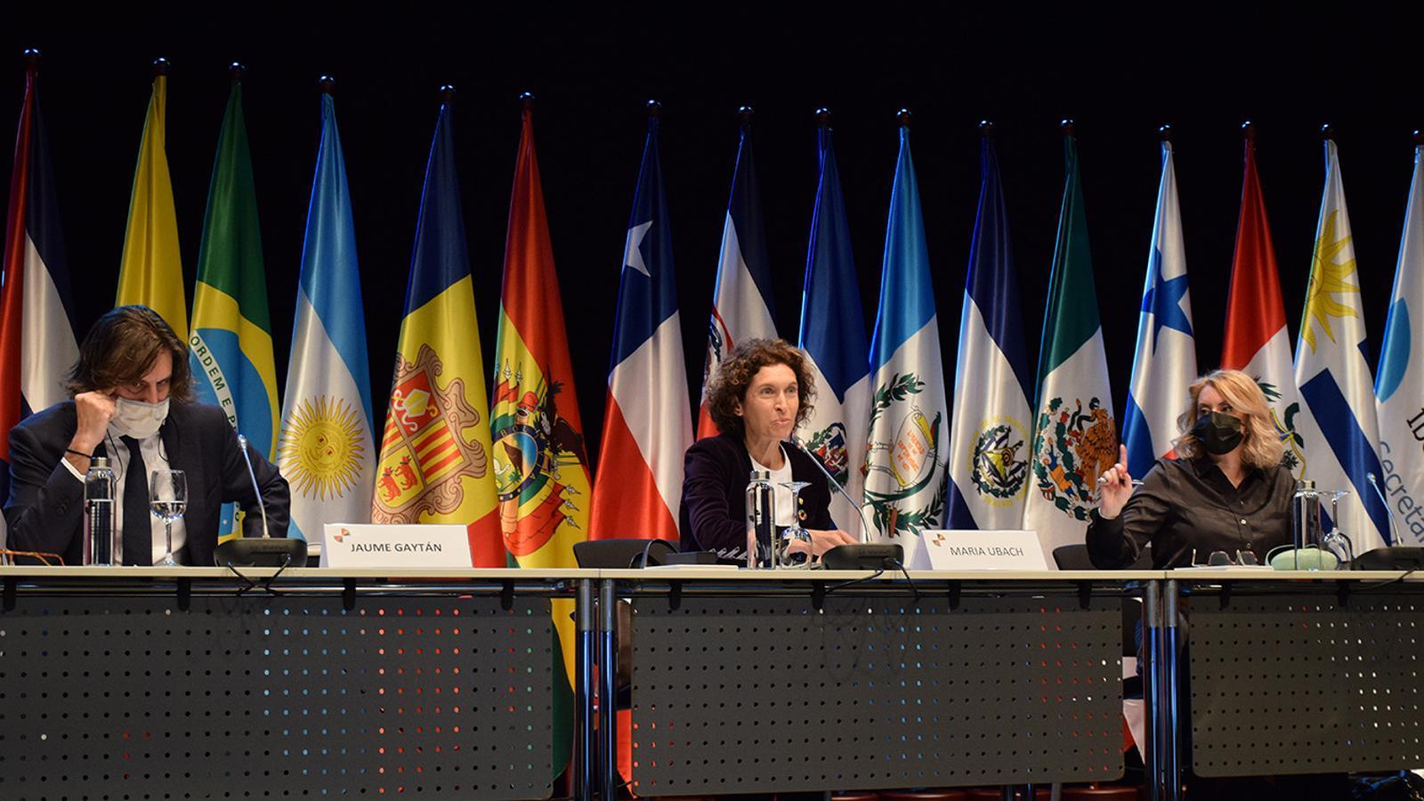 Un moment de la reunió extraordinària de ministres d'afers exteriors iberoamericans. / M. F. (ANA)