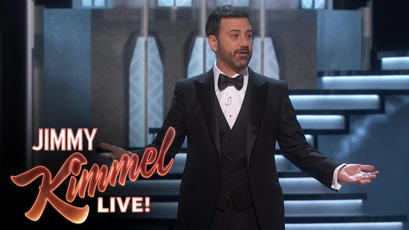 Monòleg inicial de Jimmy Kimmel als Oscars 2017