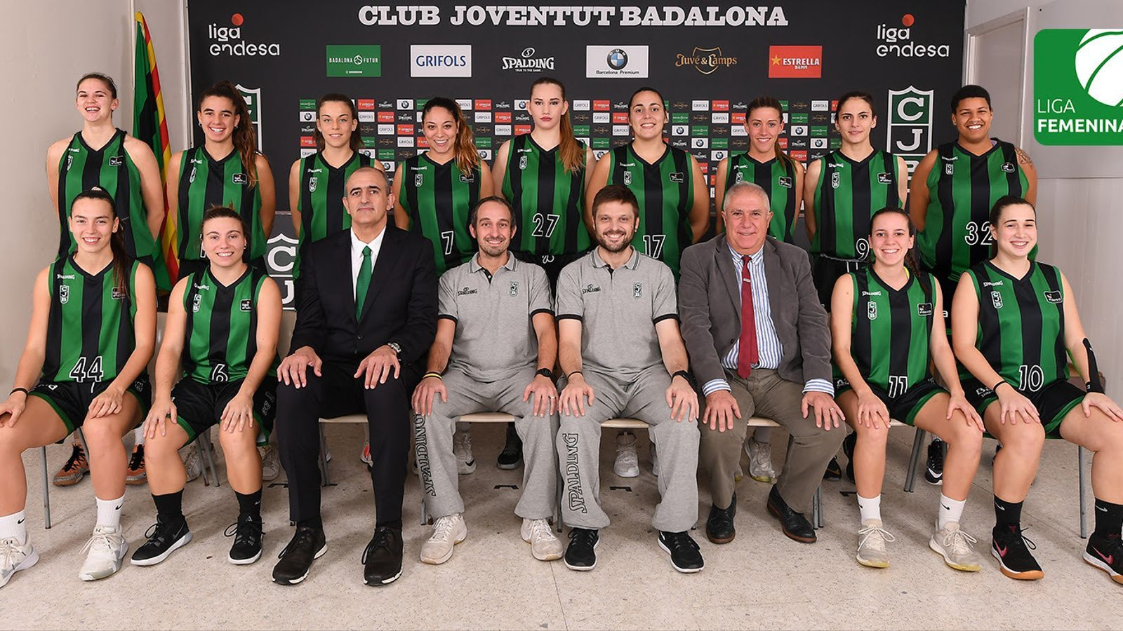 L'equip de la temporada 2019-20