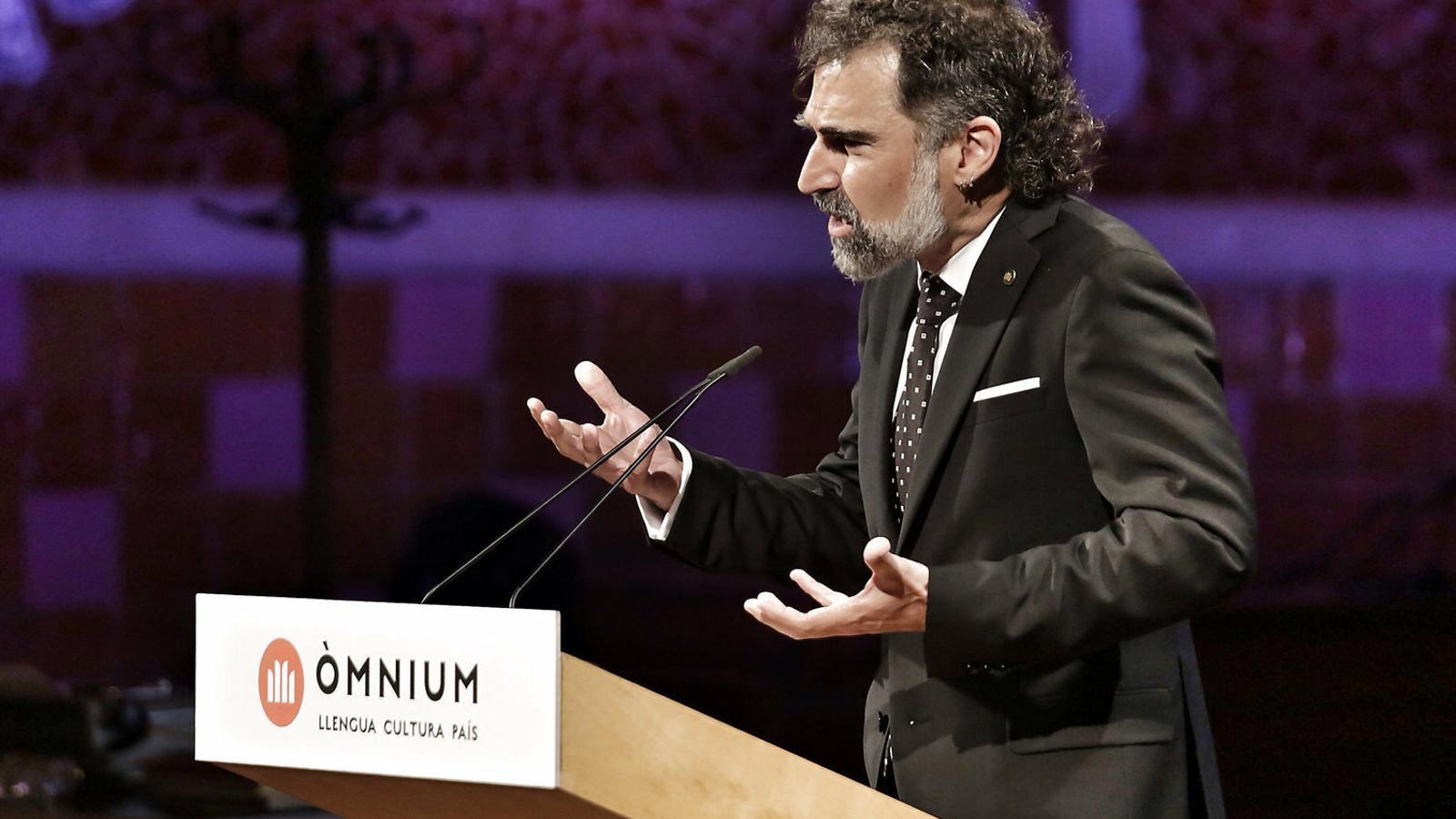 El president d'Òmnium, Jordi Cuixart / XXXX