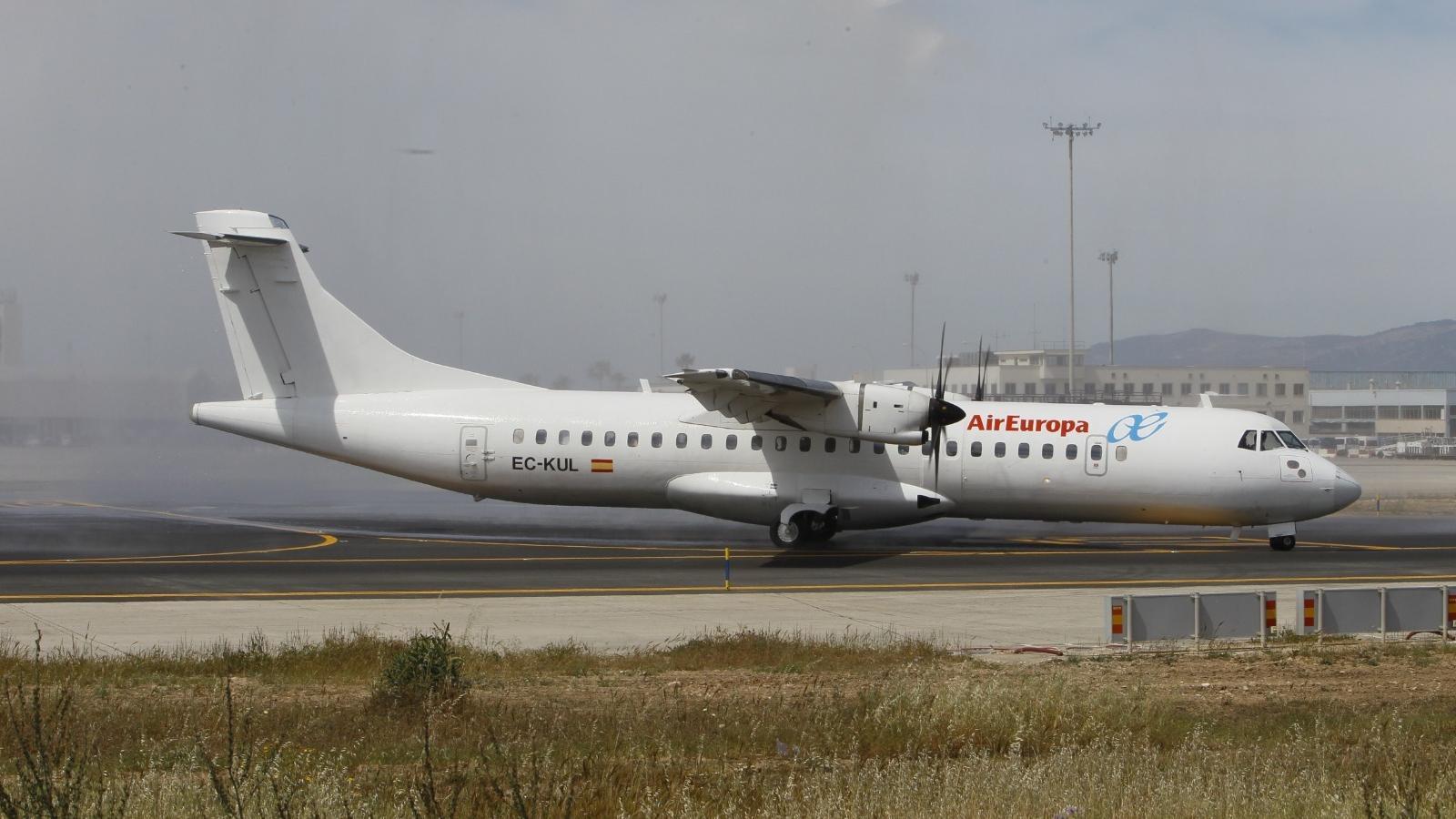 Imatge d'arxiu d'un avió d'Air Europa.