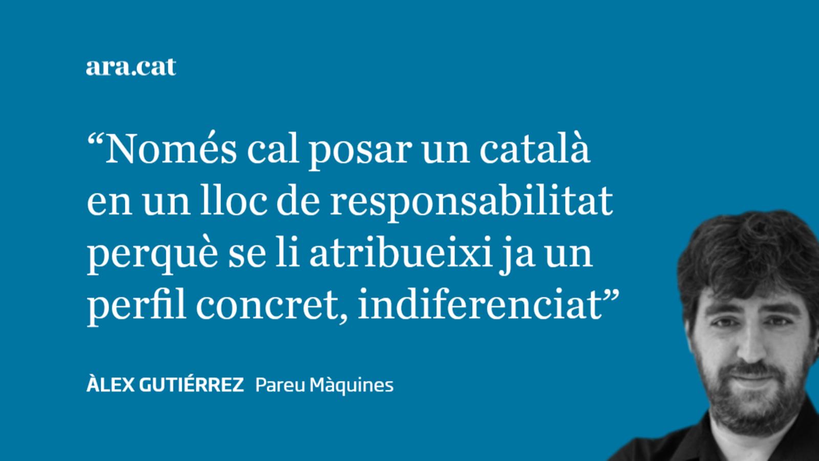 La fal·làcia dels catalans dirigint institucions de l'Estat