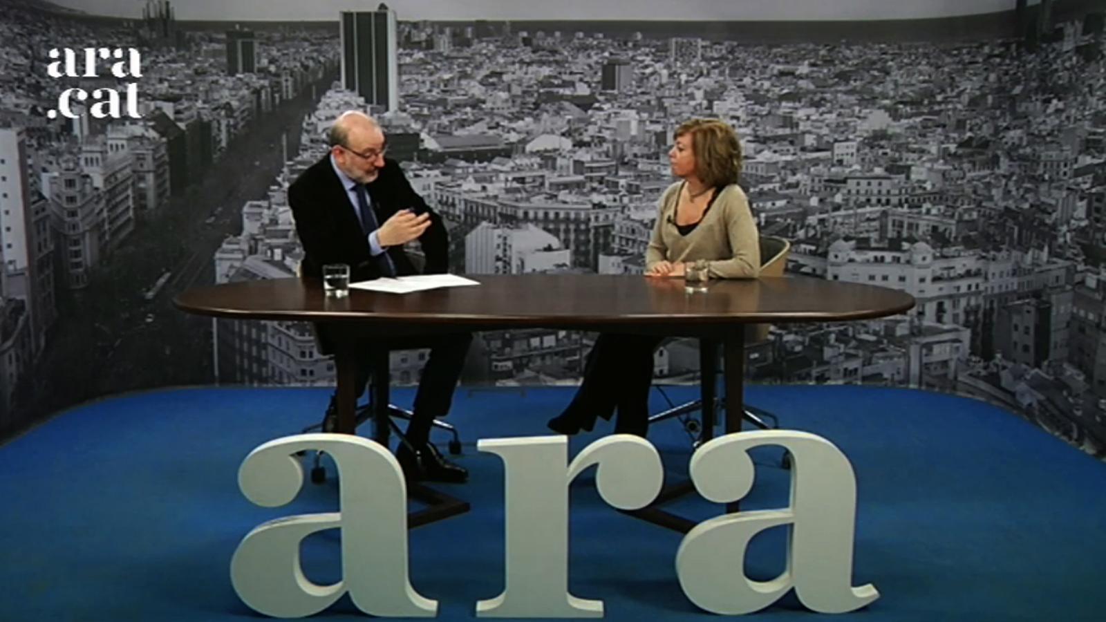 Entrevista d'Antoni Bassas a Meritxell Borràs