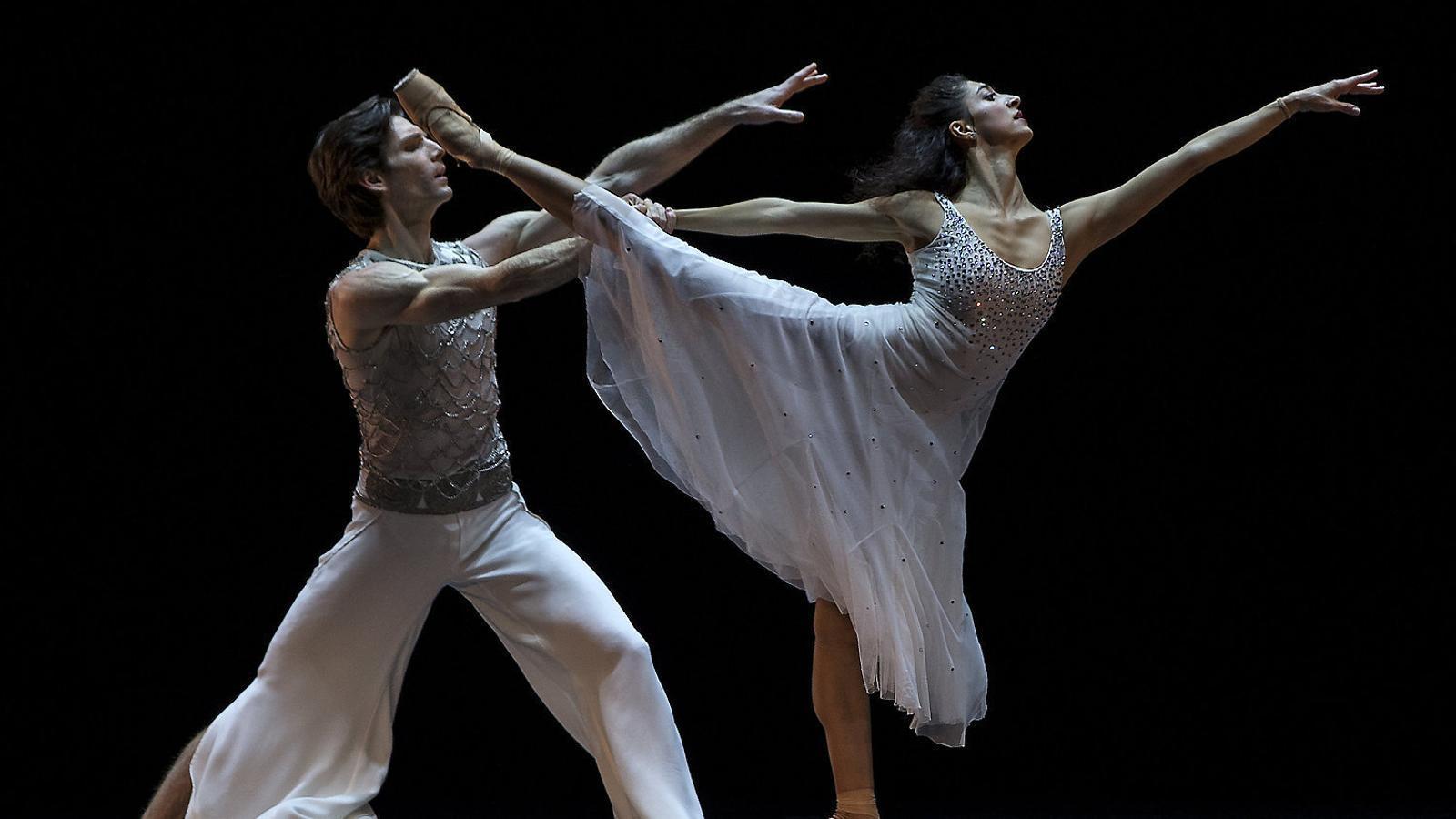 Els ballarins Vladímir Iaroixenko i Chinara Alizade.