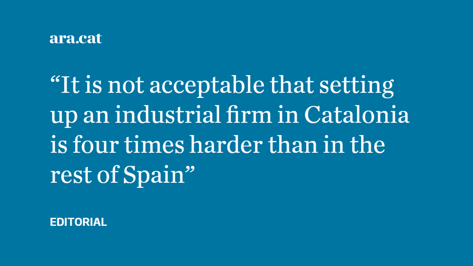 Foreign companies, the independence vote and doomsayers