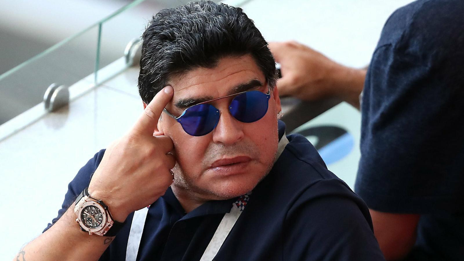 Maradona revela que té tres fills a Cuba i que els reconeixerà