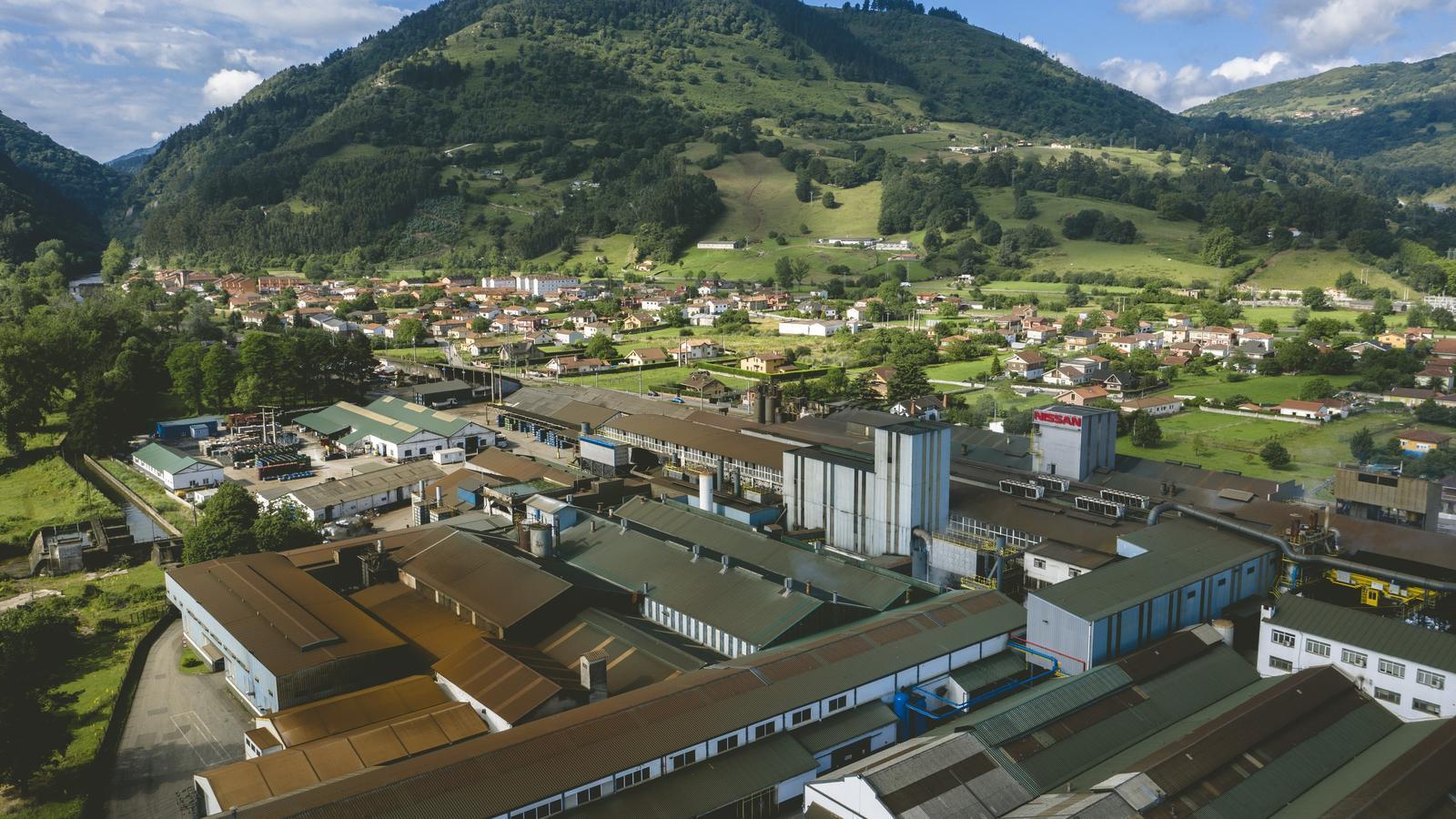 Imatge de la planta de Nissan a Cantàbria