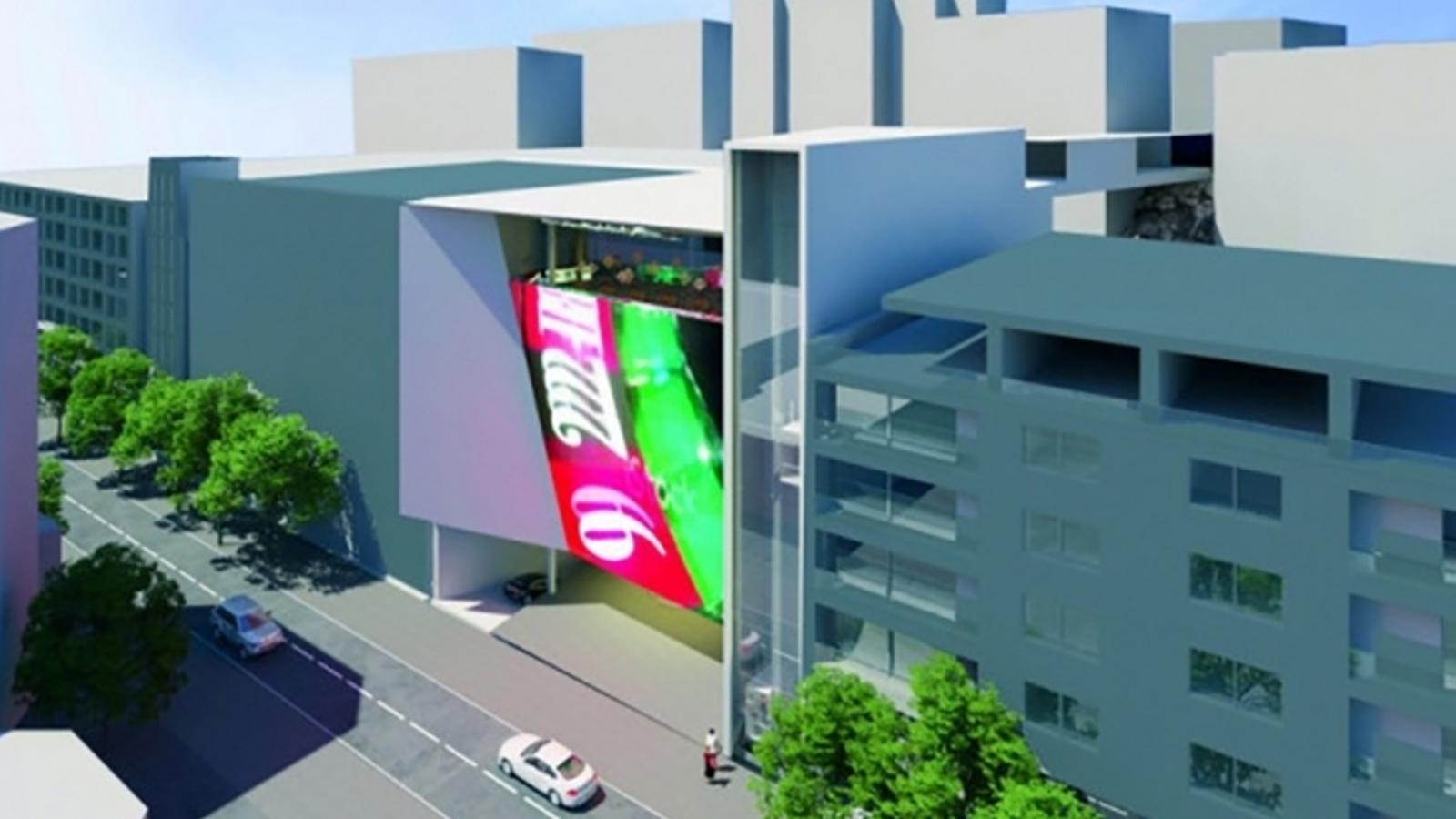 Imatge virtual del casino de Jocs. / ANA