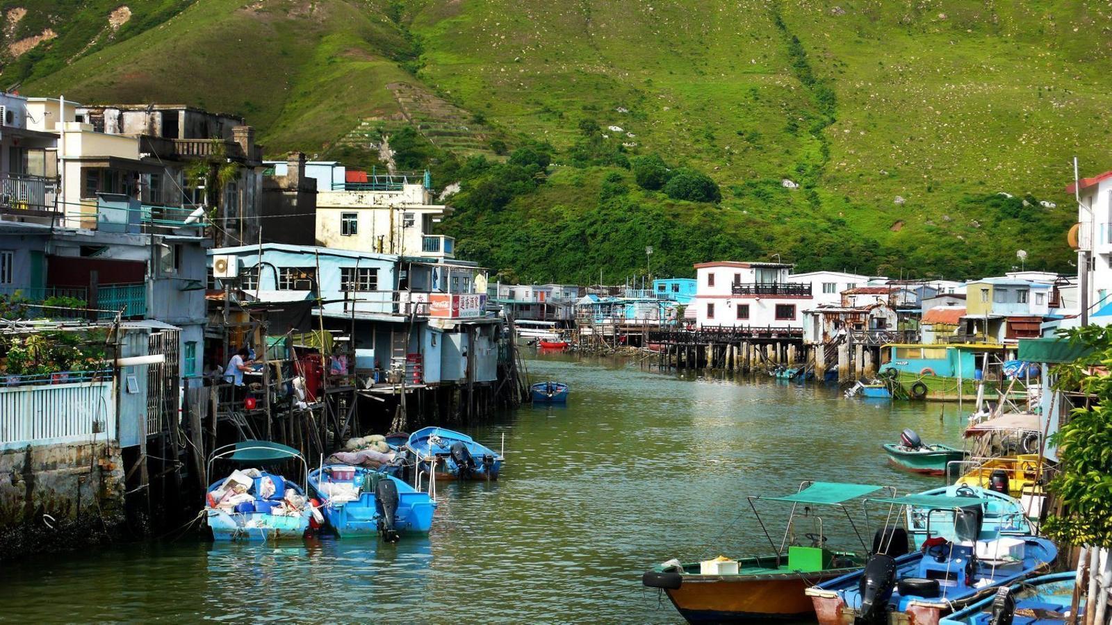 Illa de Lantau  Hong Kong  Àsia