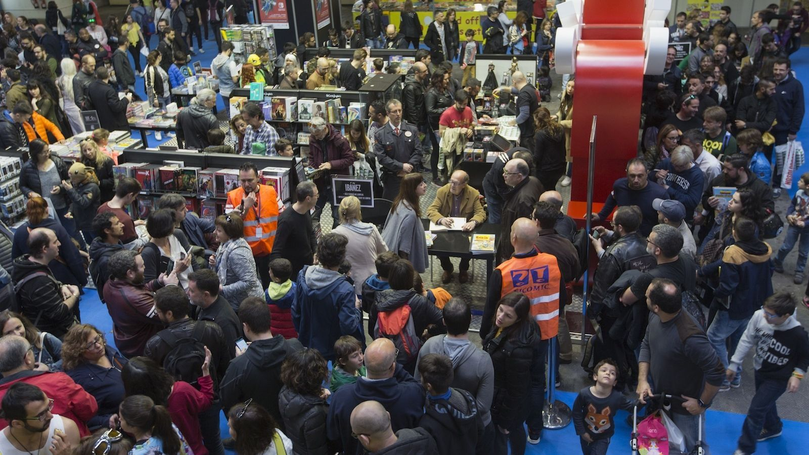 El Saló del Còmic manté la xifrà de 118.000 visitants