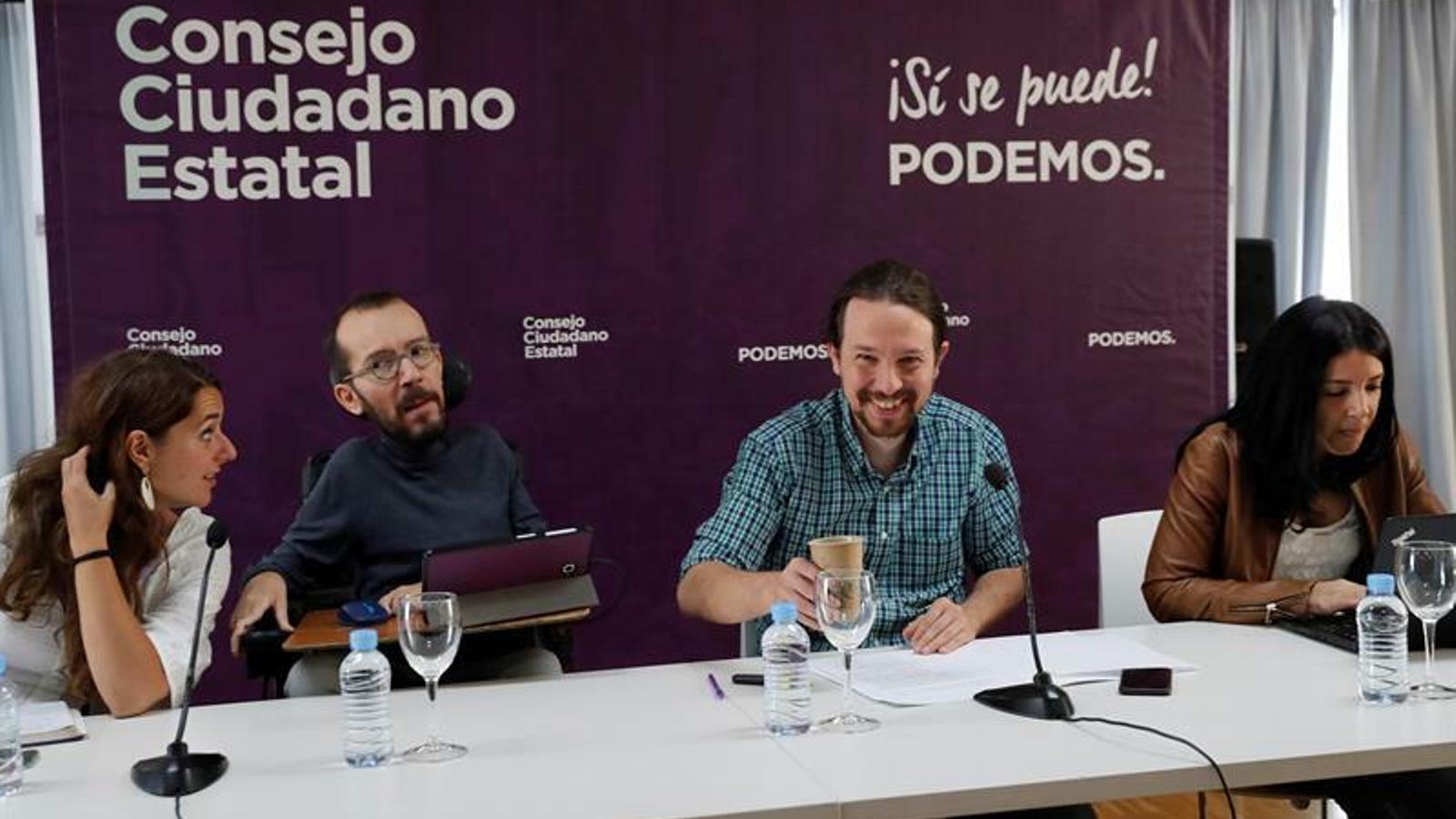 Reunió del consell ciutadà de Podem / EFE