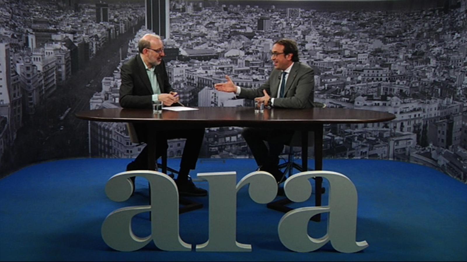 Entrevista d'Antoni Bassas a Josep Rull
