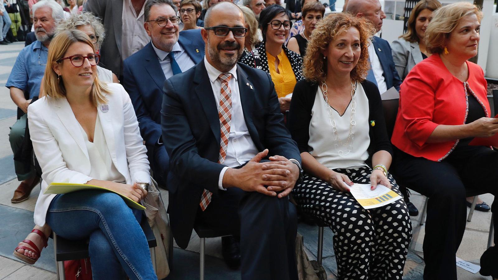 Artadi, Buch i Capella ahir a l'acte de la Diada a Madrid.