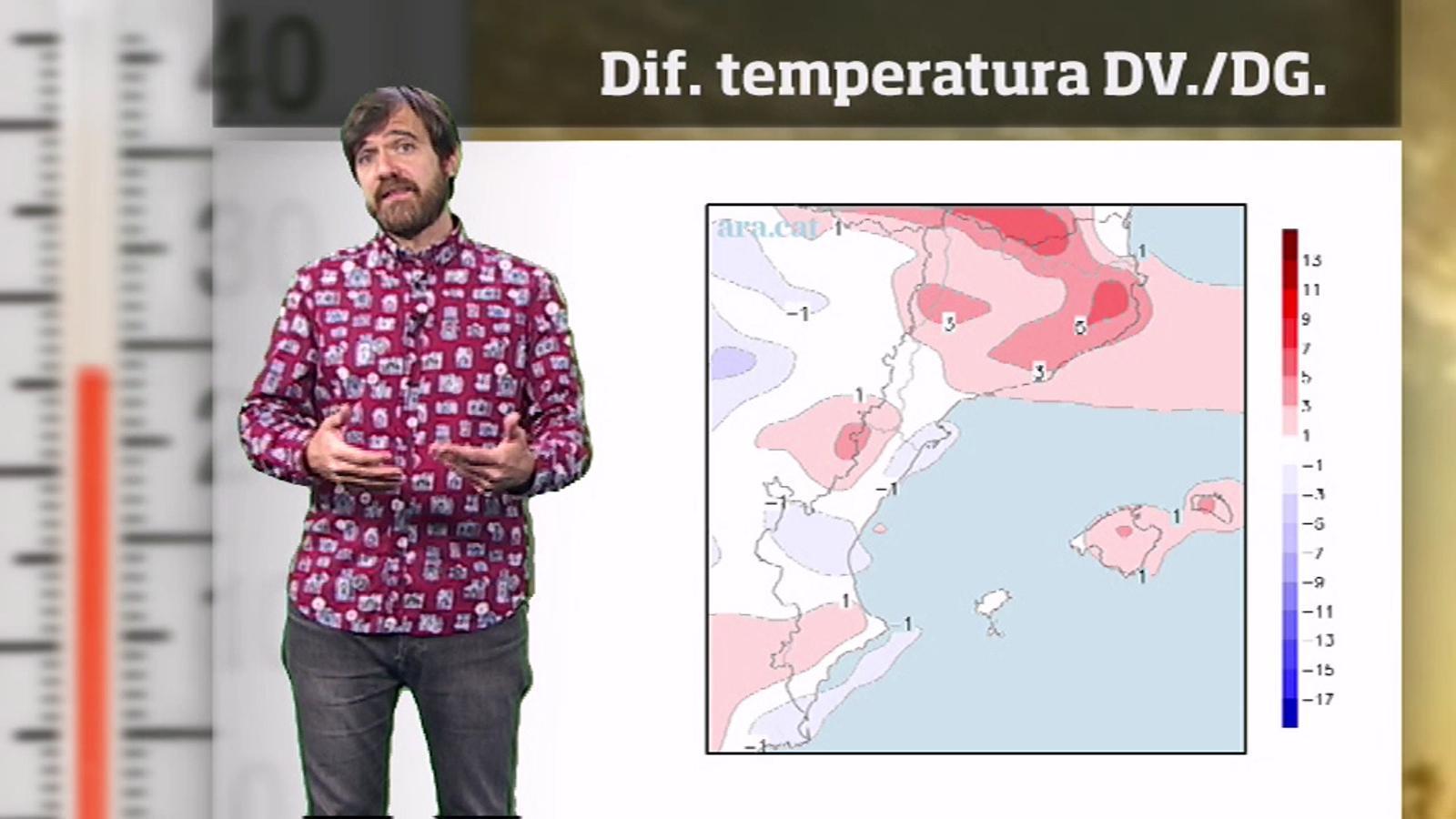Méteo especial: cap de setmana poc fred, cap d'any ventós