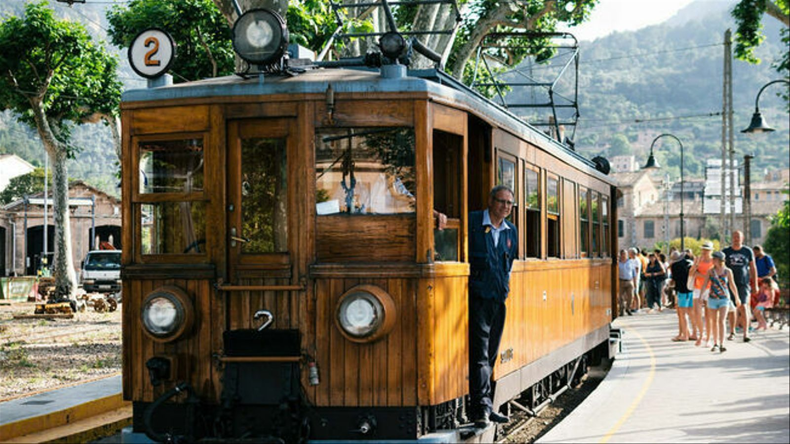 El tren de Sóller.