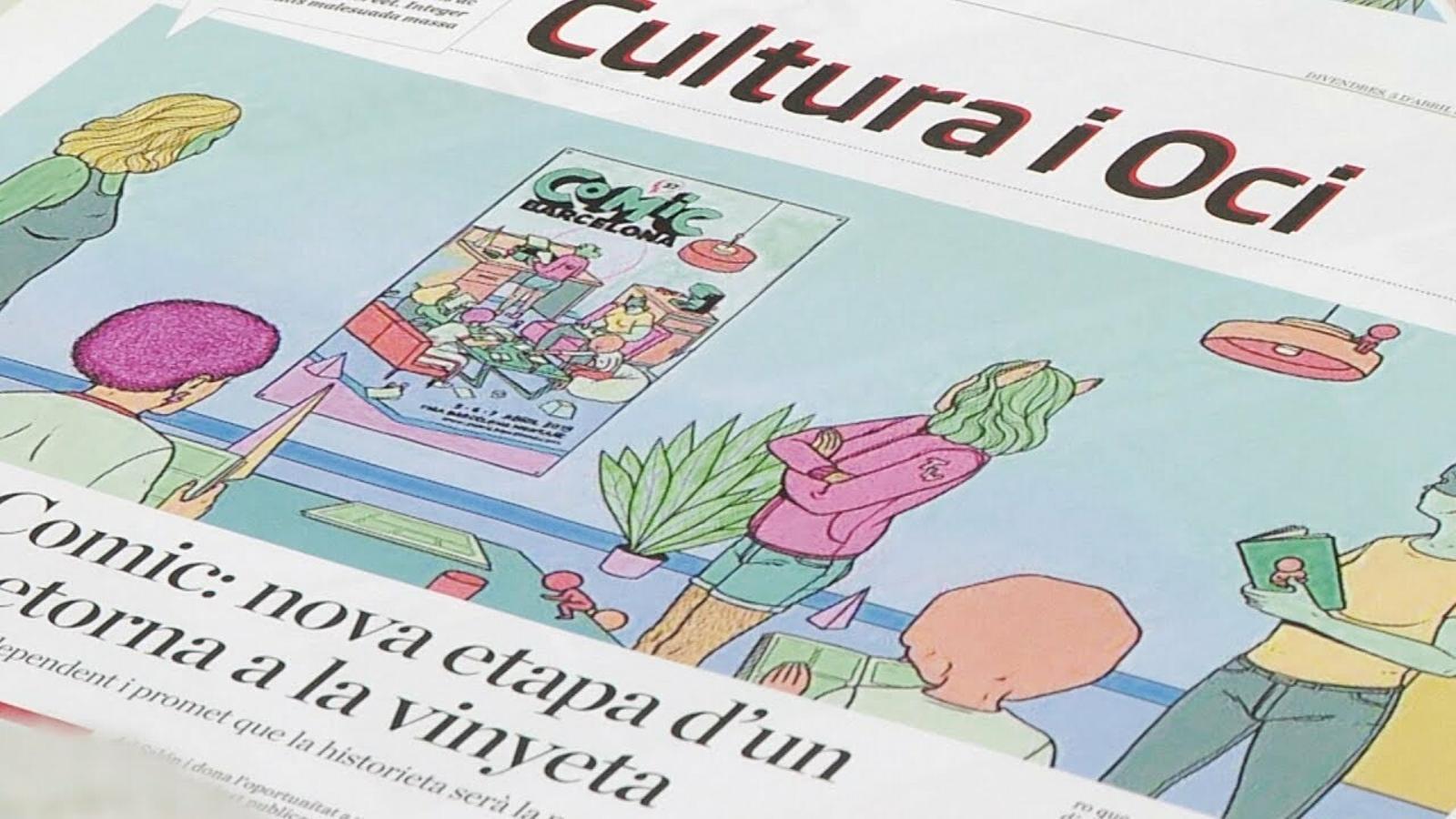 Un diari de còmic: torna l'ARA il·lustrat i amb historietes