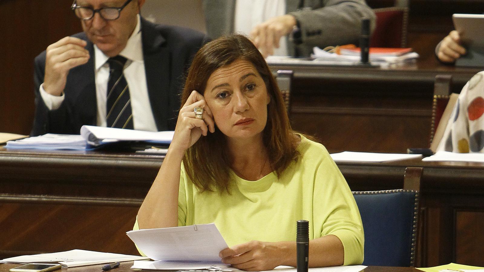 El PP demanarà a Armengol  sobre el dret d'autodeterminació en ple de dimarts