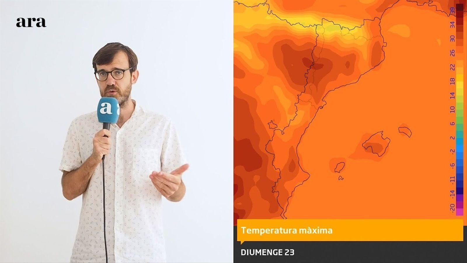 La méteo: primers canvis en el temps a partir del cap de setmana