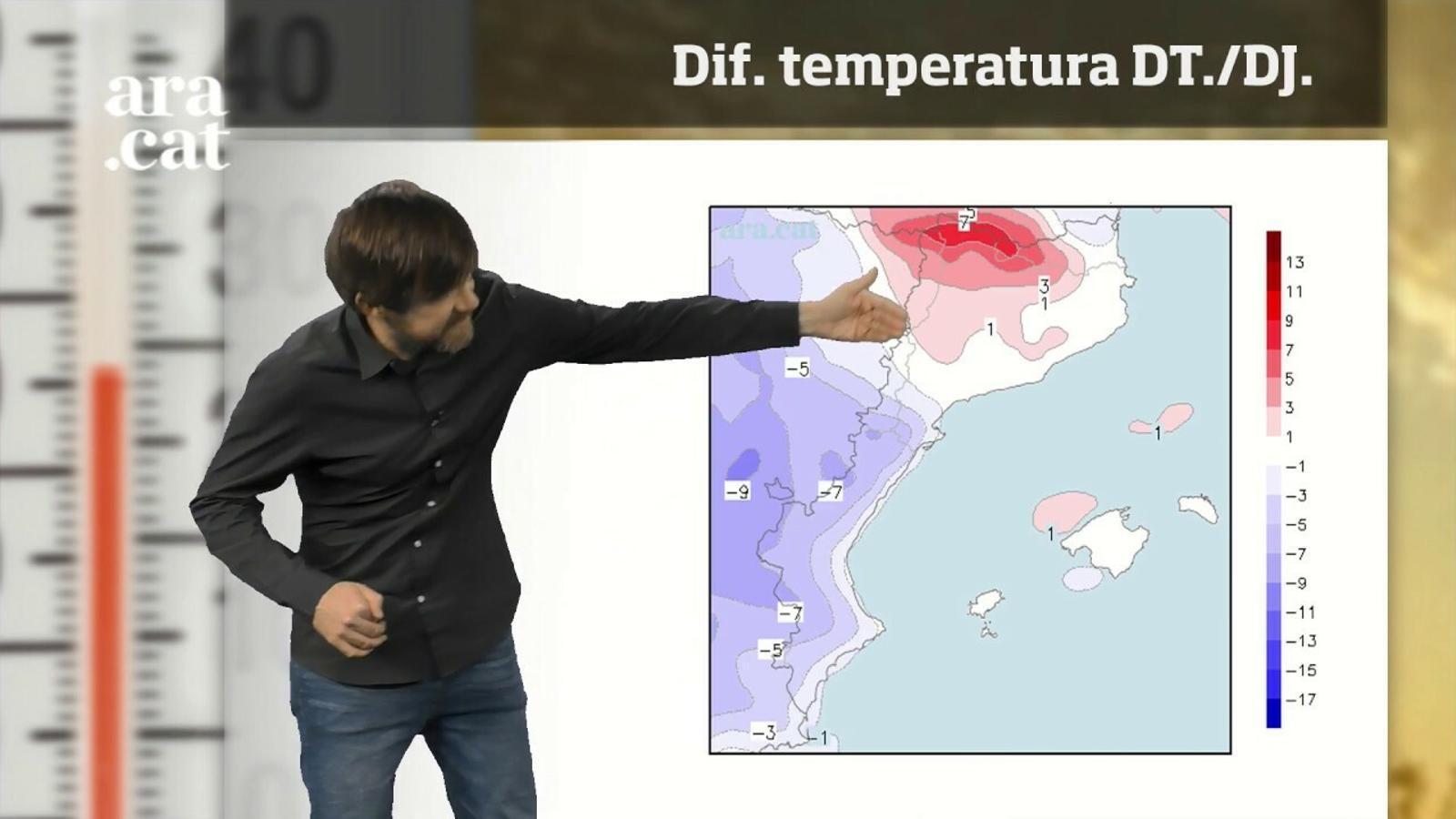 Els últims mapes rebaixen les pluges de divendres: el temps de Setmana Santa dia a dia