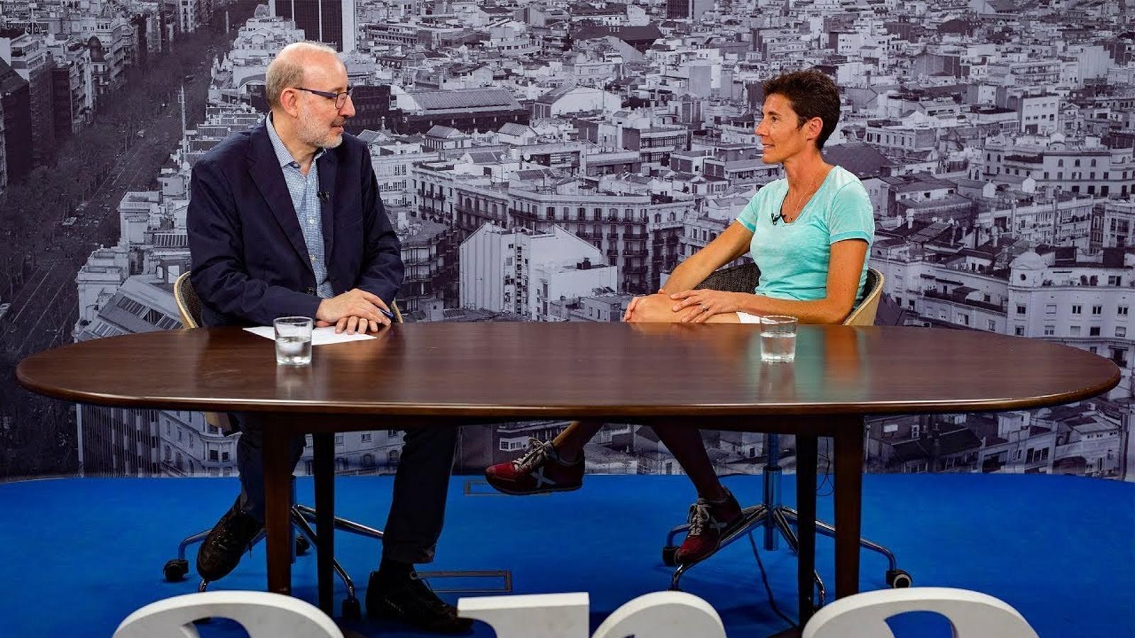 Entrevista d'Antoni Bassas a Silvia Tremoleda