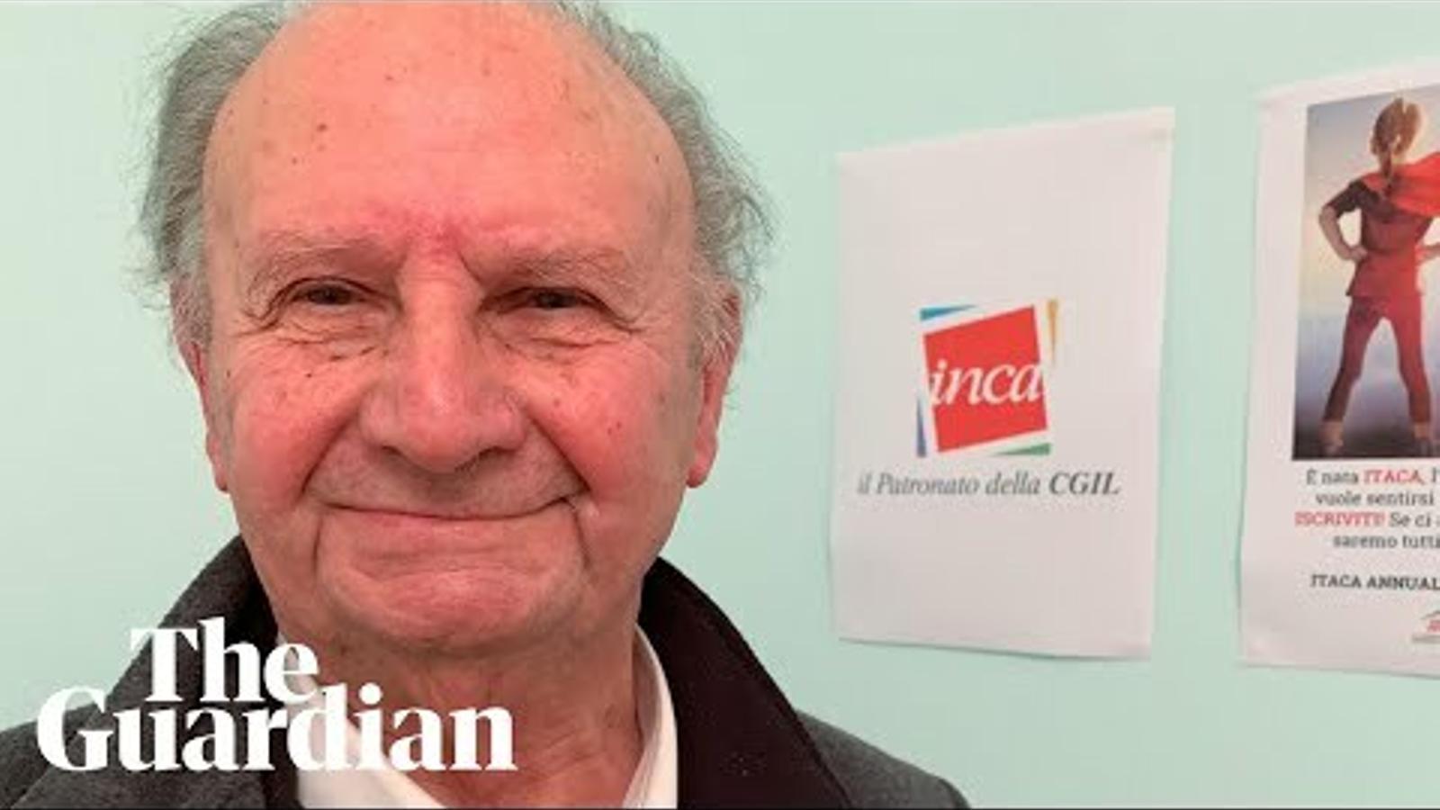 Antonio Finelli viu al Regne Unit des de 1952