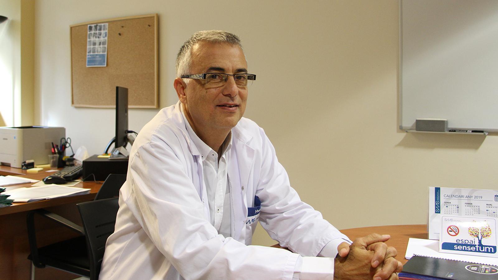 El director assistencial del SAAS, Marcel Prats. / M. F. (ANA)