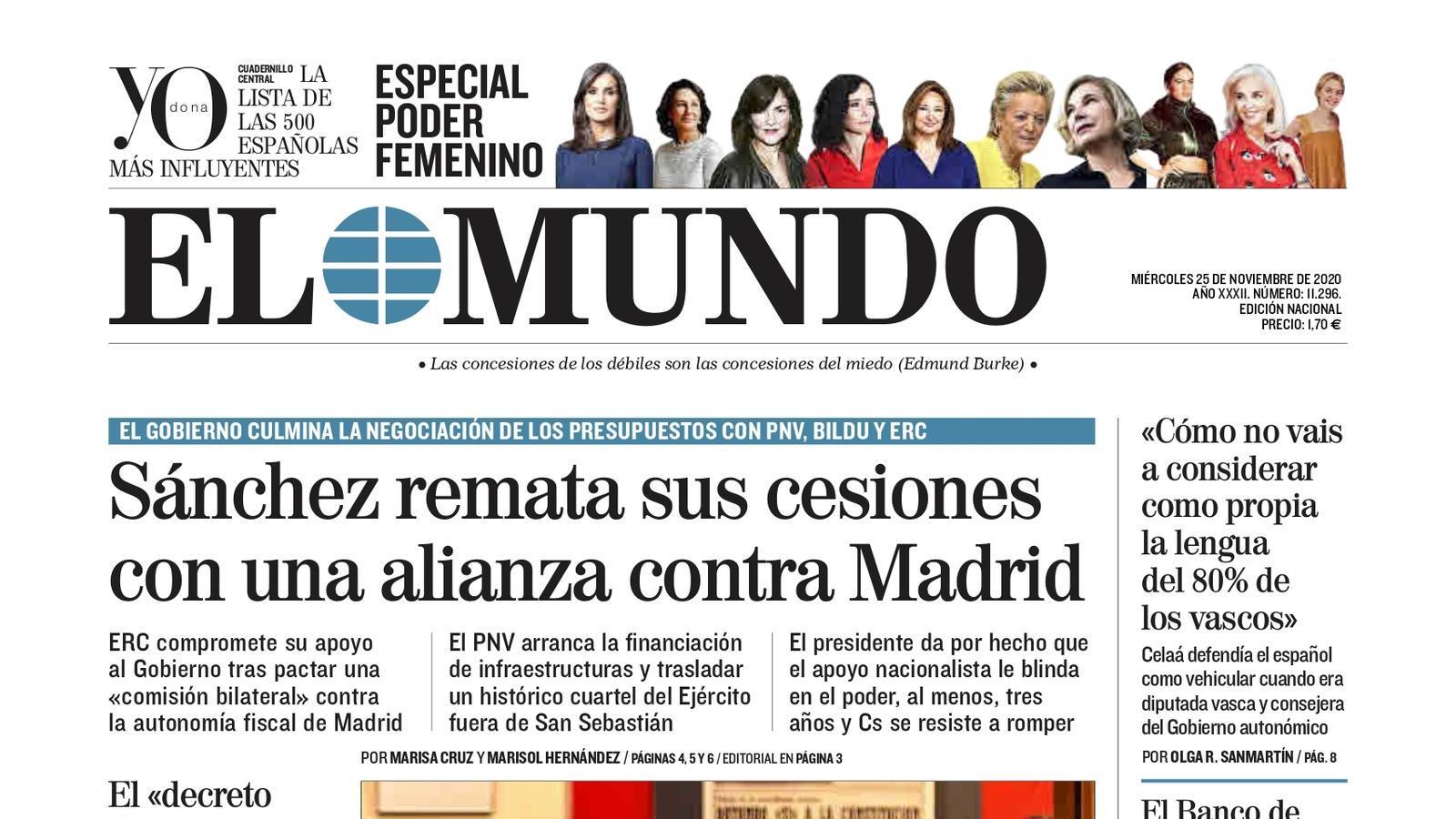 El Mundo 25/11