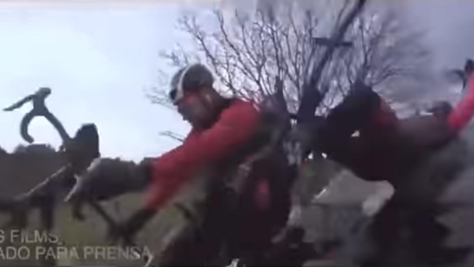 Dani Rovira publica el duríssim vídeo d'un accident que va patir