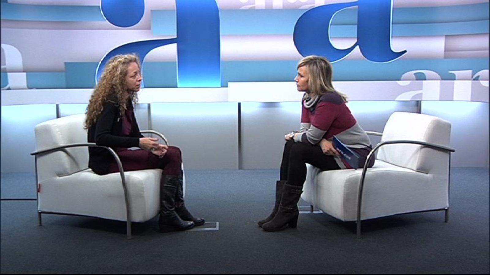 Entrevista de Mònica Terribas a Esther Quintana