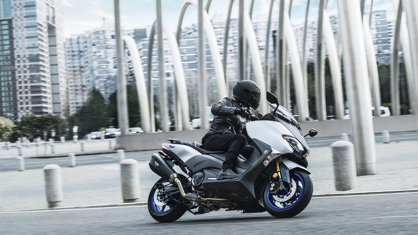 La Yamaha TMax ha liderat les vendes al seu sector.