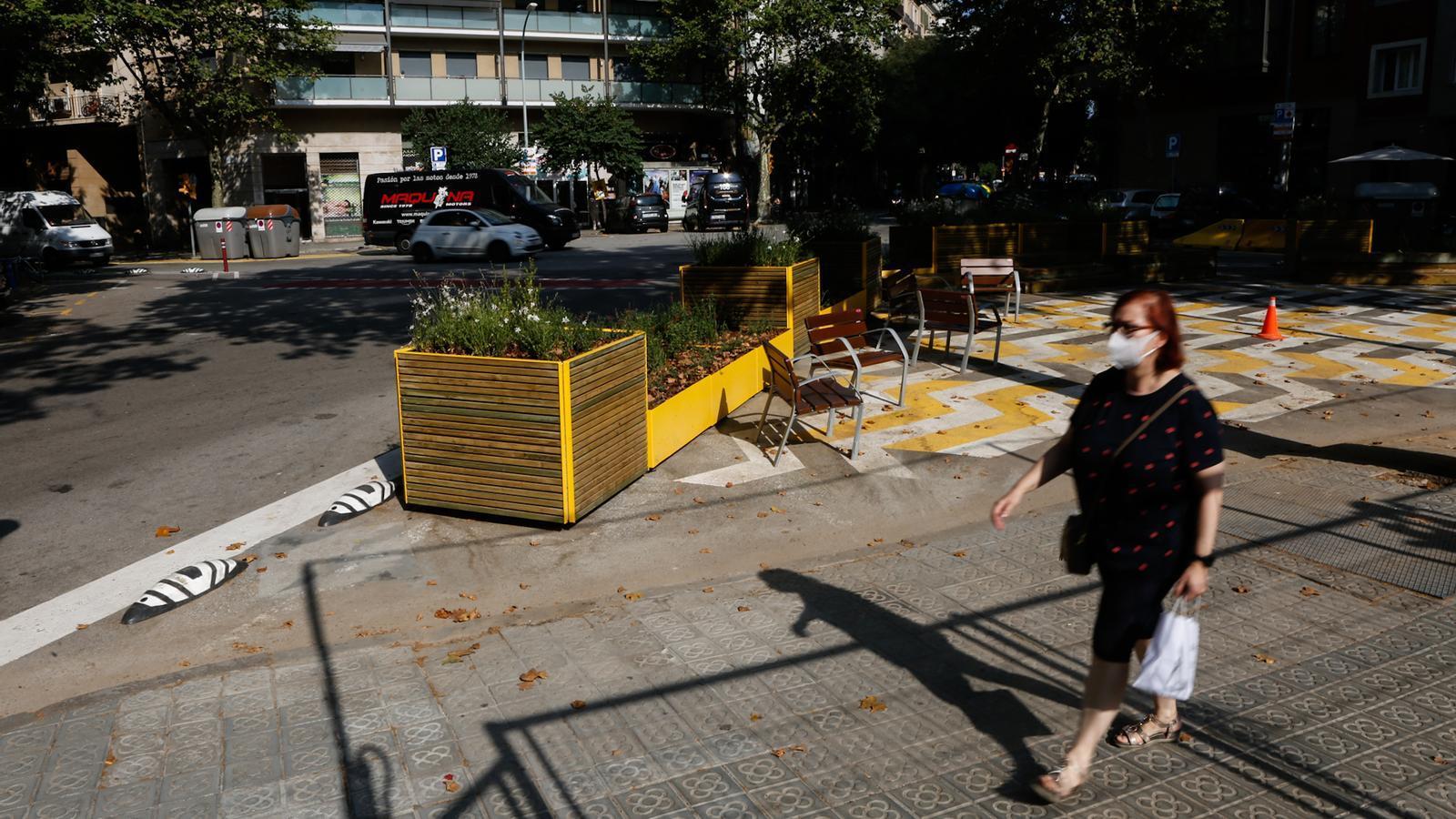 El carrer Aragó i el passeig de la Zona Franca de Barcelona tindran carril bici a partir de l'octubre