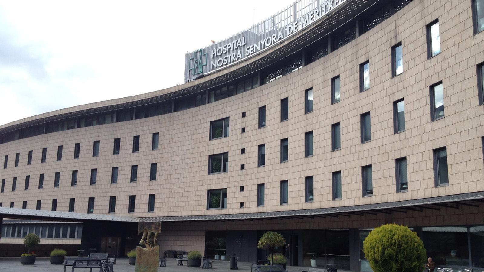 Hospital Nostra Senyora de Meritxell. / ARXIU