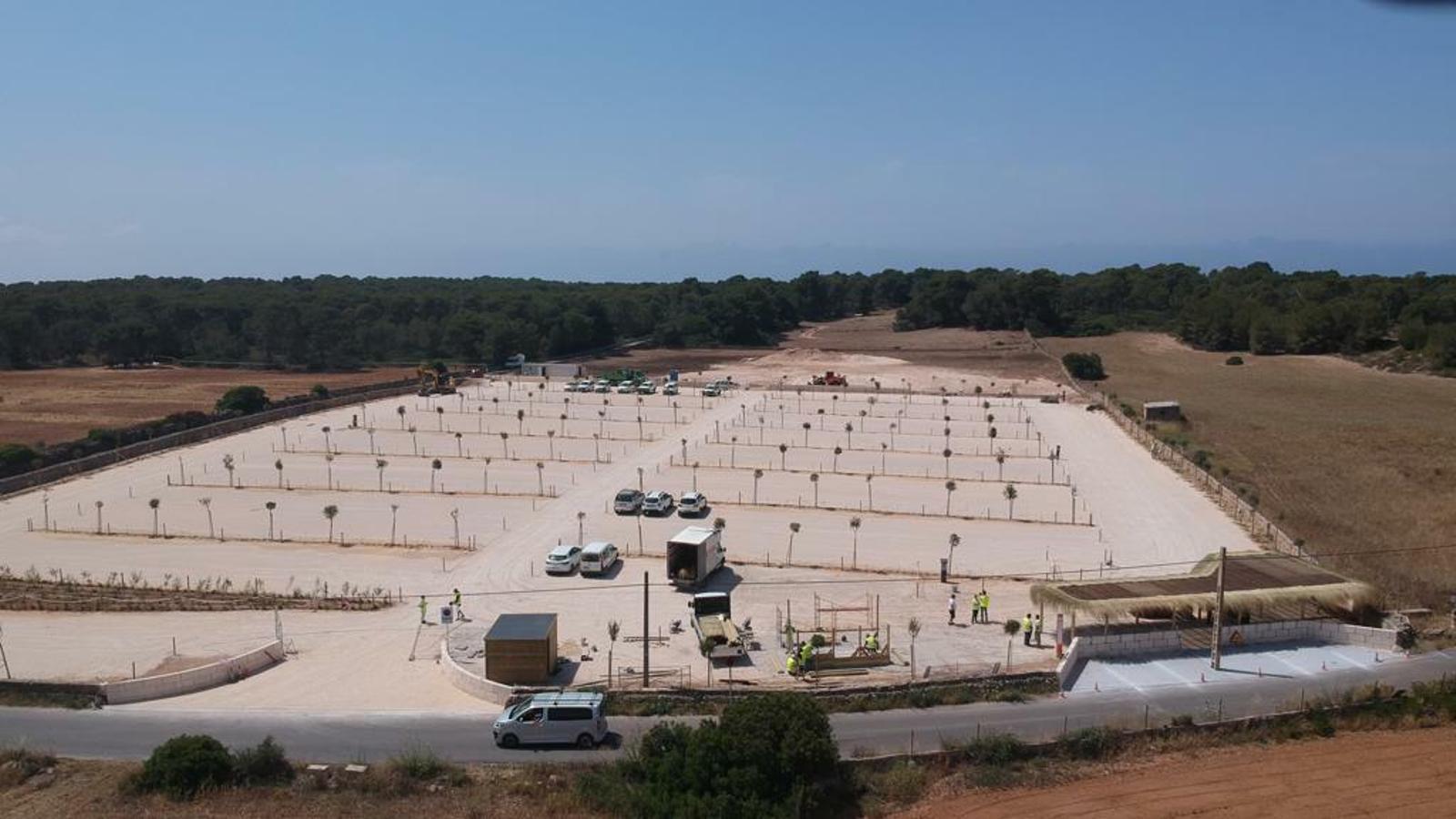 Campos gestionarà el nou aparcament públic del Parc Natural del Trenc