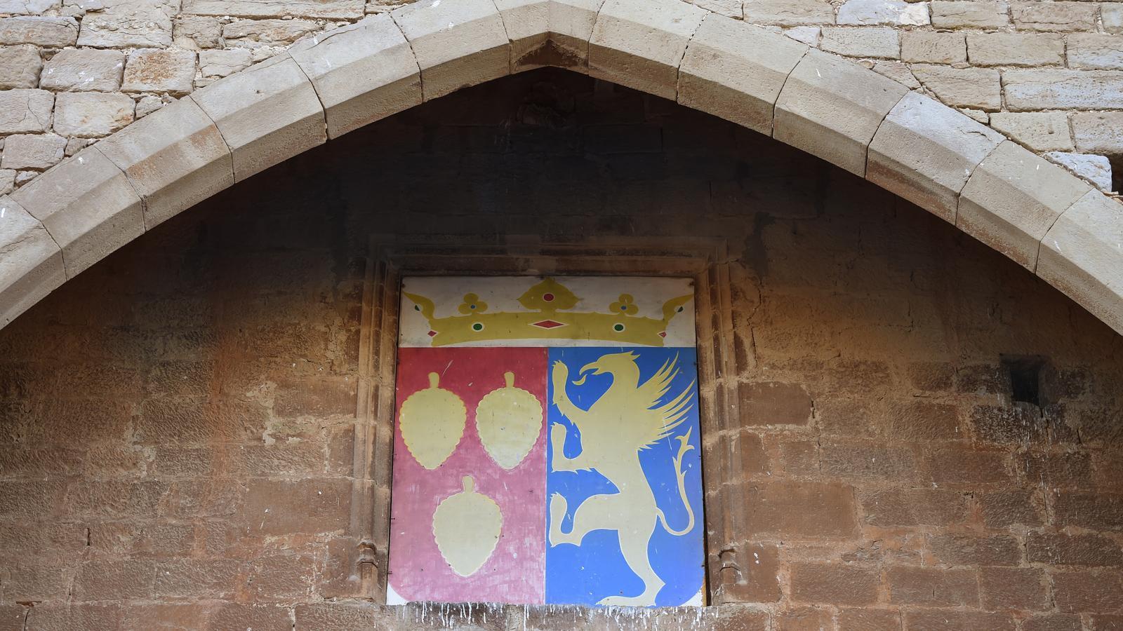 Imatge del castell de Pallargues