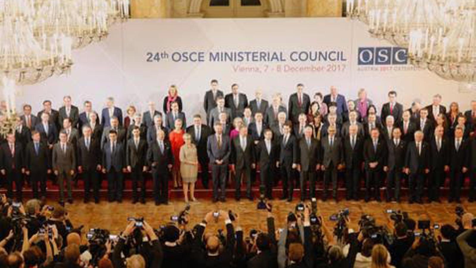 Sessió al consell de ministres d'Afers Exteriors de l'OSCE. / GOVERN D'ANDORRA