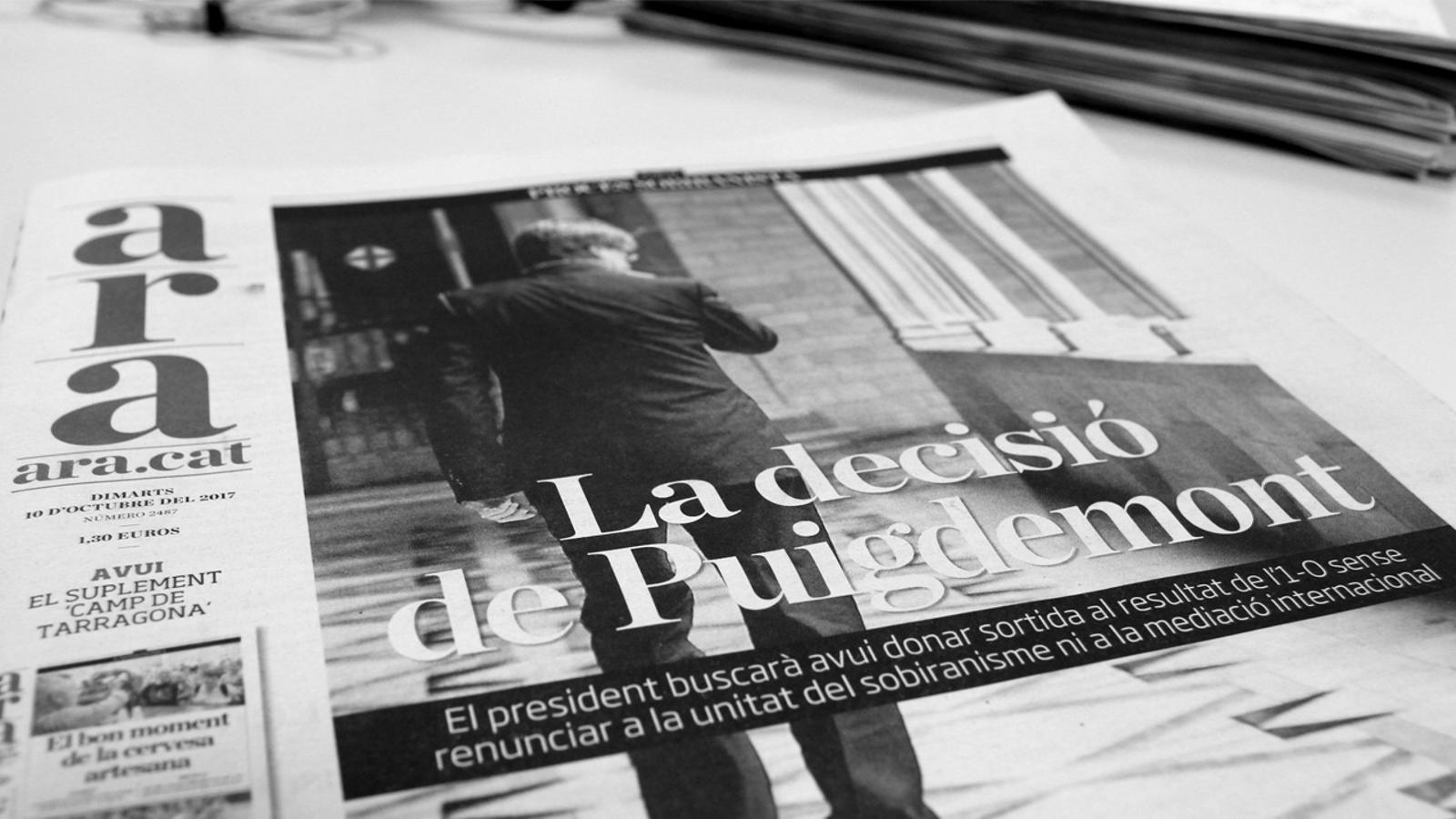 L'anàlisi d'Antoni Bassas: '10 d'octubre, el batec de la història'