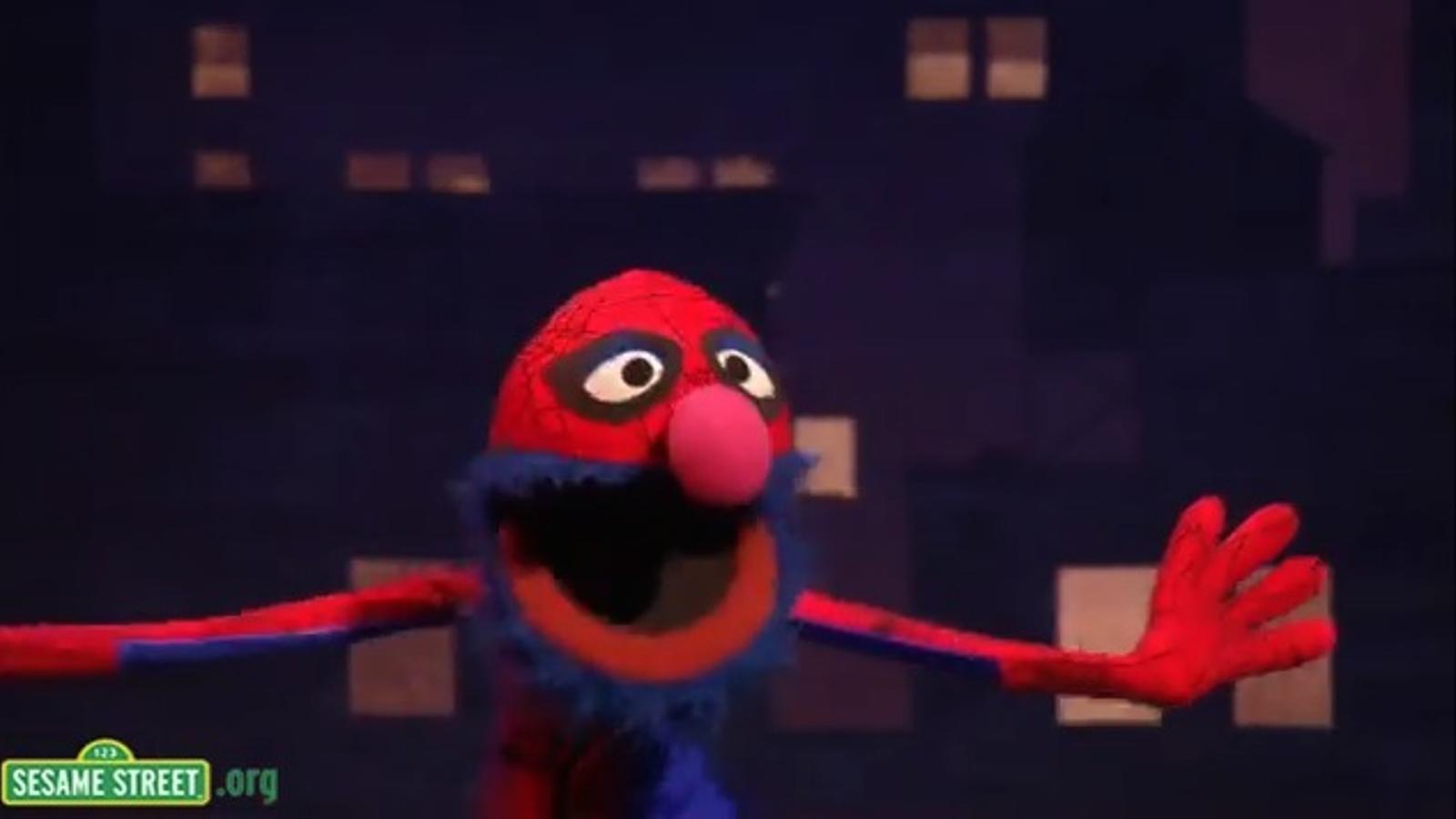 La paròdia de Sesame Street del musical 'Spider-Man'