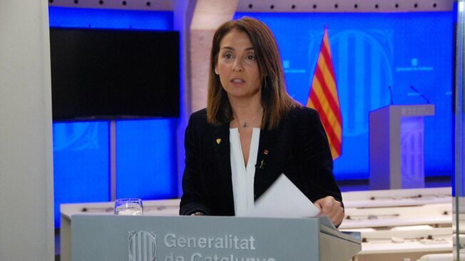EN DIRECTE | Roda de premsa posterior al consell executiu del Govern