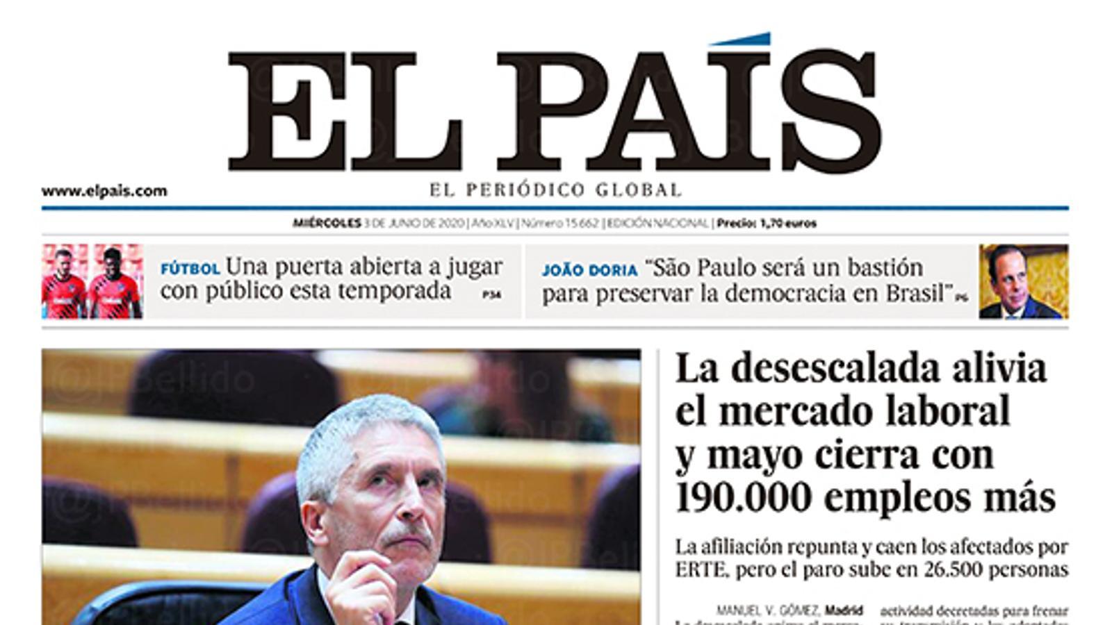 El País 3/6/2020