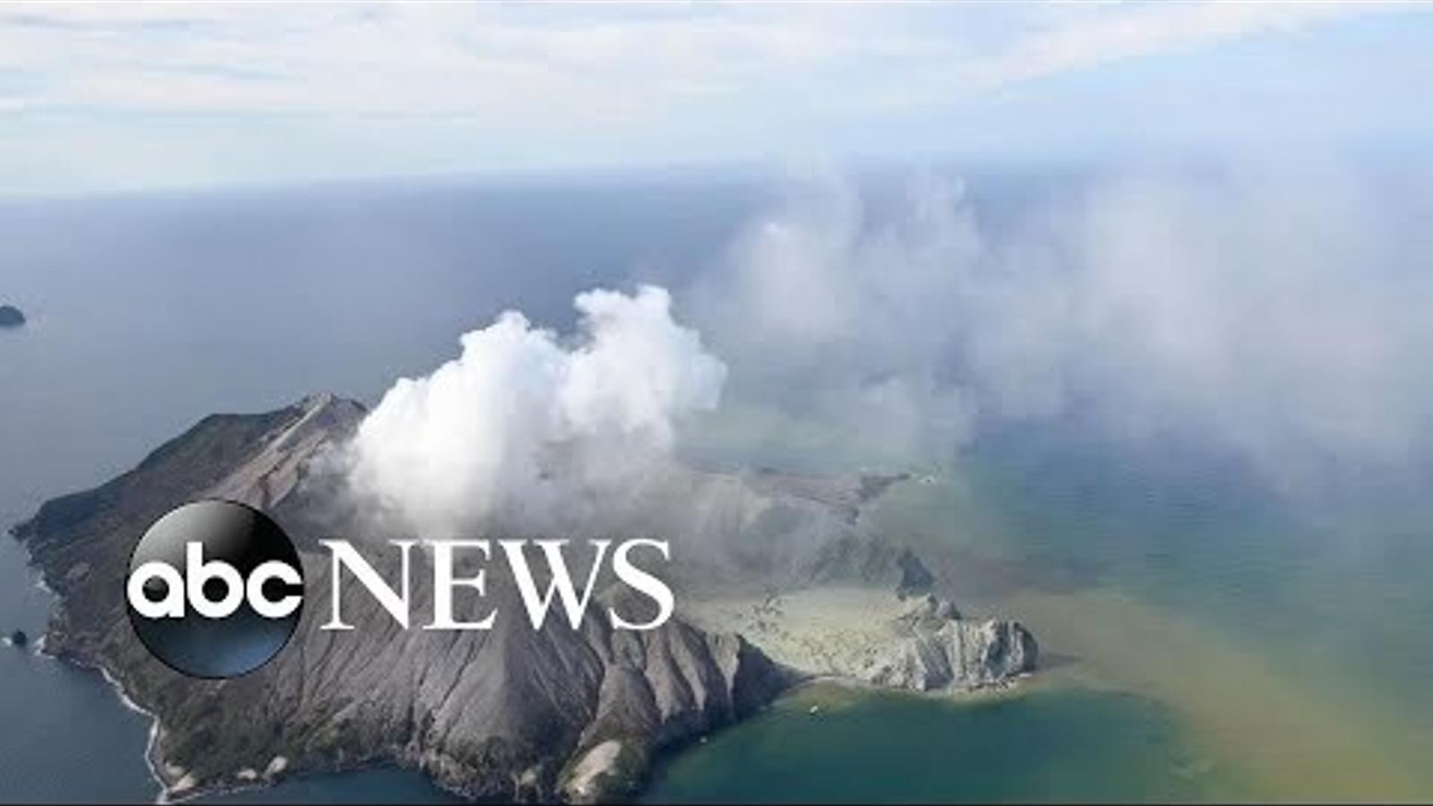 Volcà a Nova Zelanda