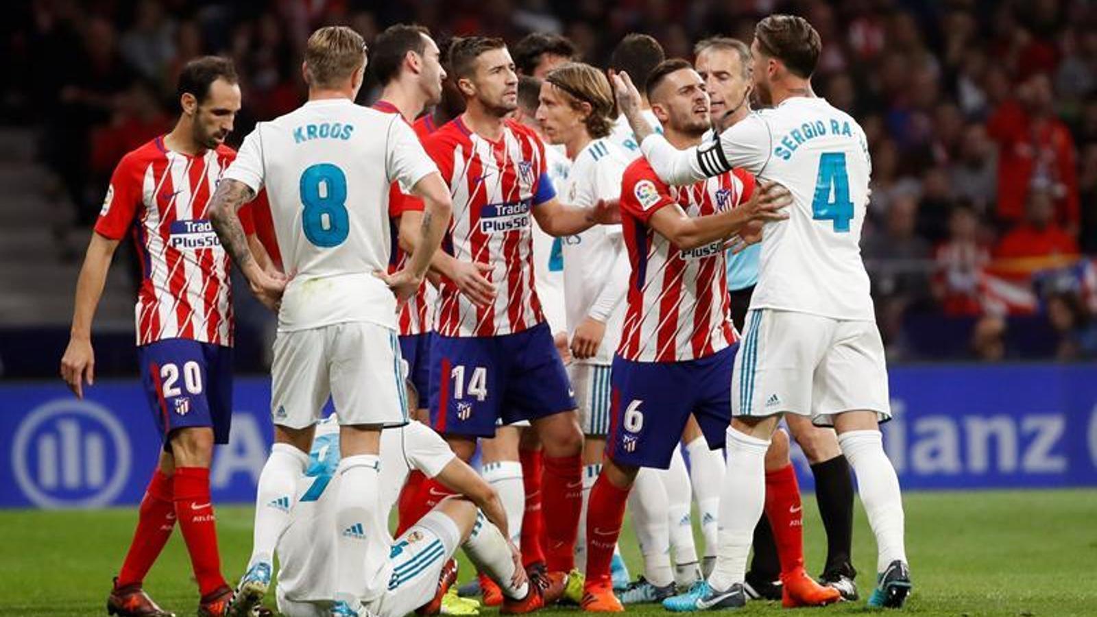 El derbi paralitza els equips de Madrid (0-0)
