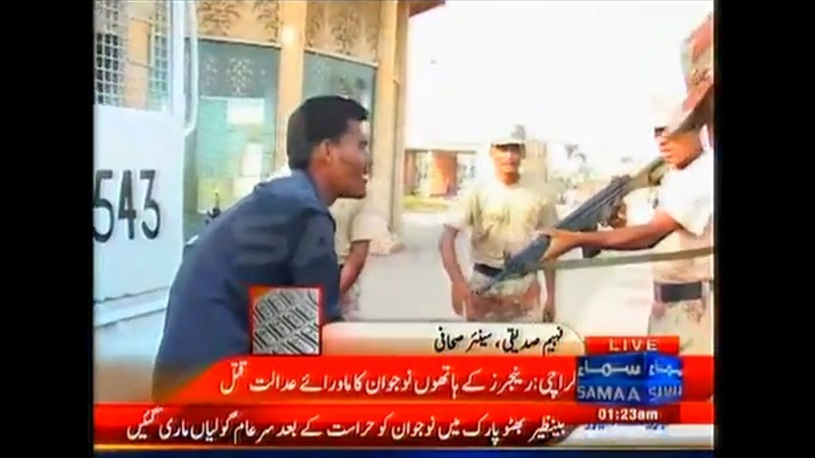 Un soldat mata a boca de canó un adolescent al Pakistan