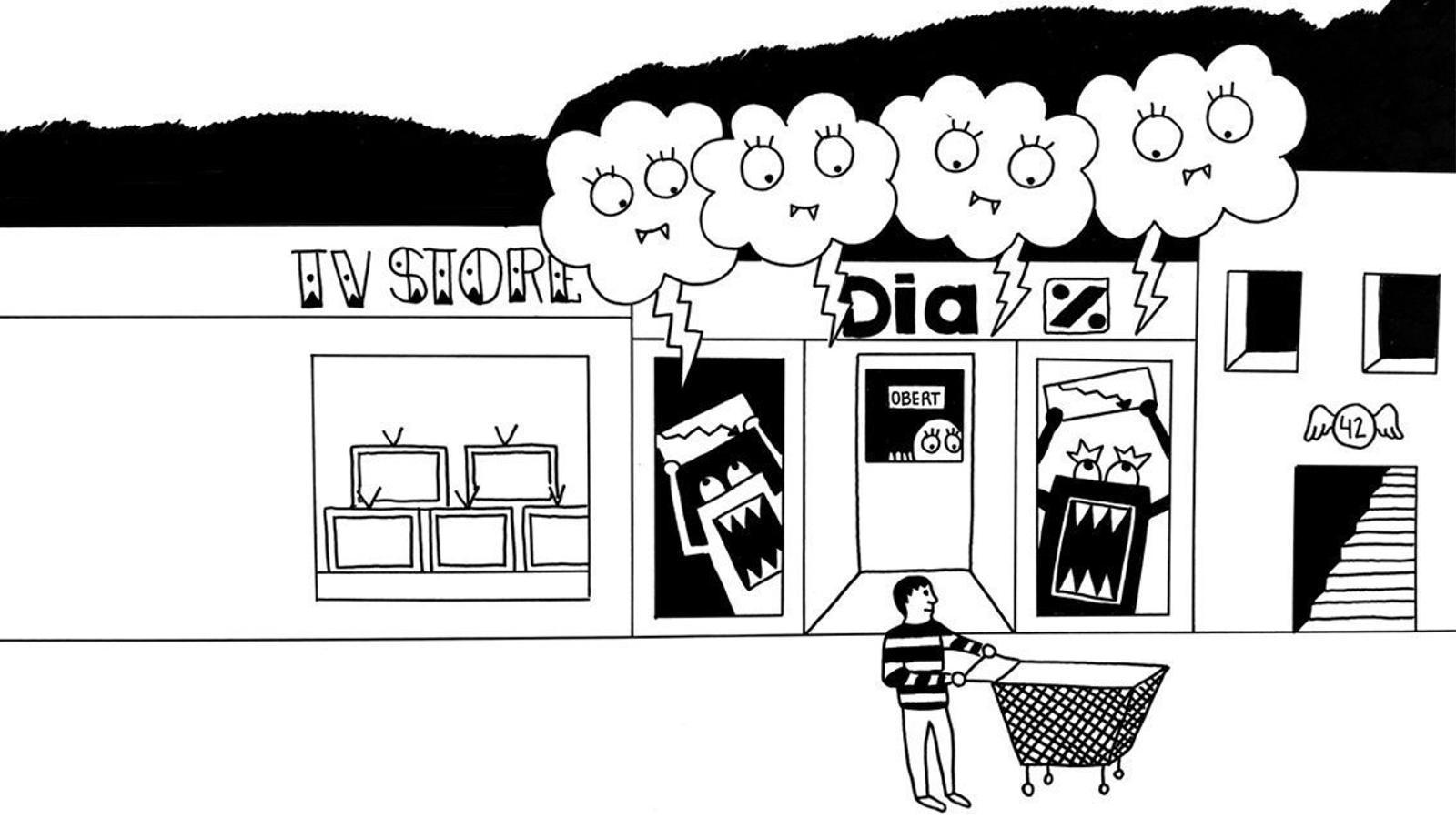 Els supermercats Dia perden el nord